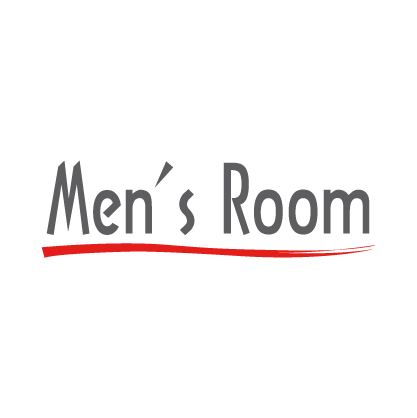 Mens Room logo circle